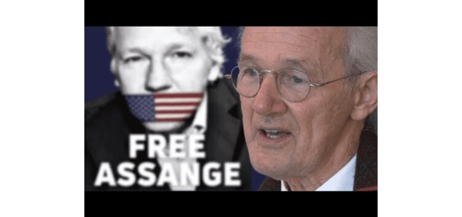 John Shipton, Vater von Julian Assange, im Interview. (Foto: Weltnetz.tv)