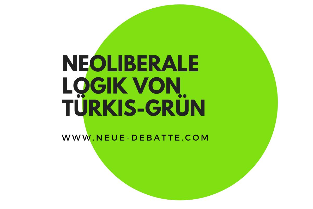 Die Alternativlosigkeit österreichischer Politik zeig sich in der Wachstumslogik. (Illustration: Neue Debatte)