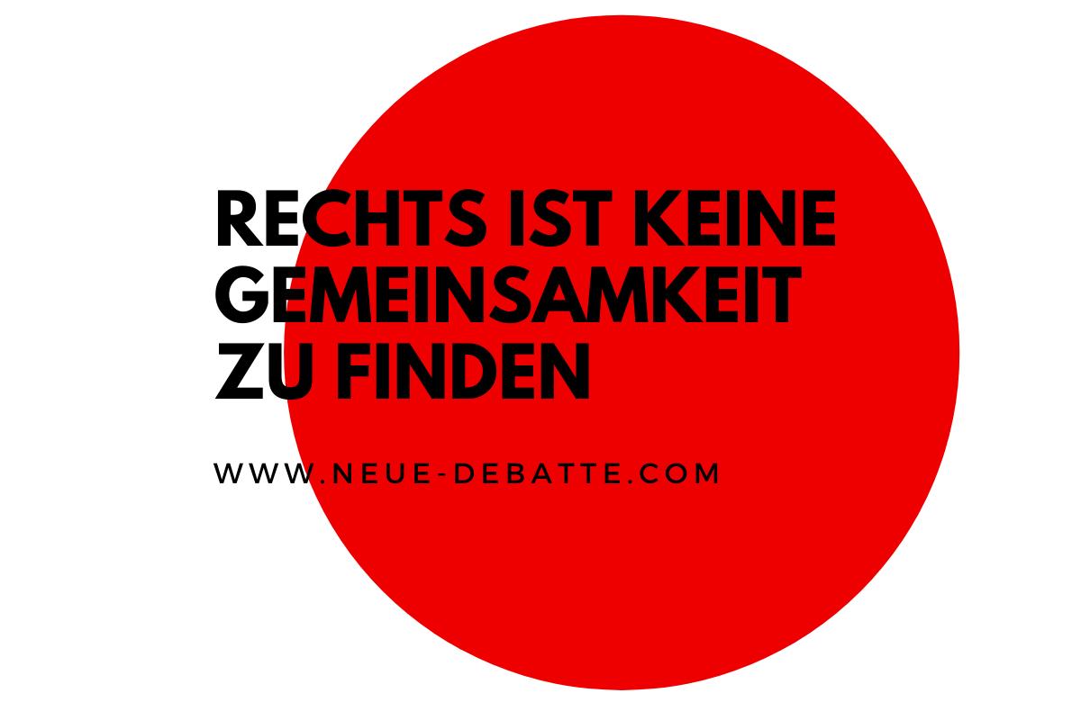 Andreas Wehr analysiert die Optionen der Partei DIE LINKE in Thüringen. (Illustration: Neue Debatte)