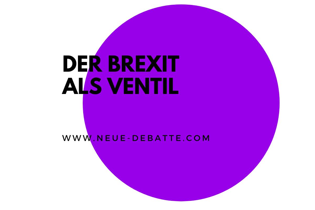 Die Europäische Union und der Brexit. (Illustration: Neue Debatte)