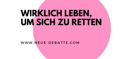 Dirk C. Fleck und Jens Lehrich sprechen über das große Nichts, wo sich alles findet. (Illustration: Neue Debatte)
