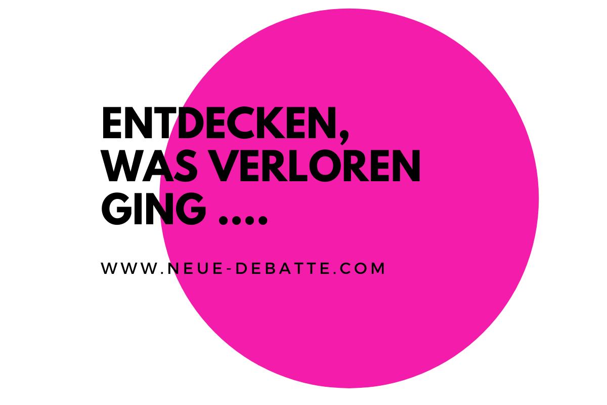 Dirk C. Fleck und Jens Lehrich sprechen in der Krise über neue Erfahrungen des Menschlichen. (Illustration: Neue Debatte)