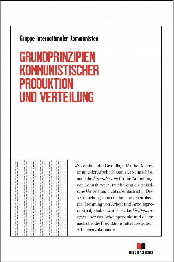 """Sachbuch """"Grundprinzipien kommunistischer Produktion und Verteilung"""". (Image: Syndikat-A)"""