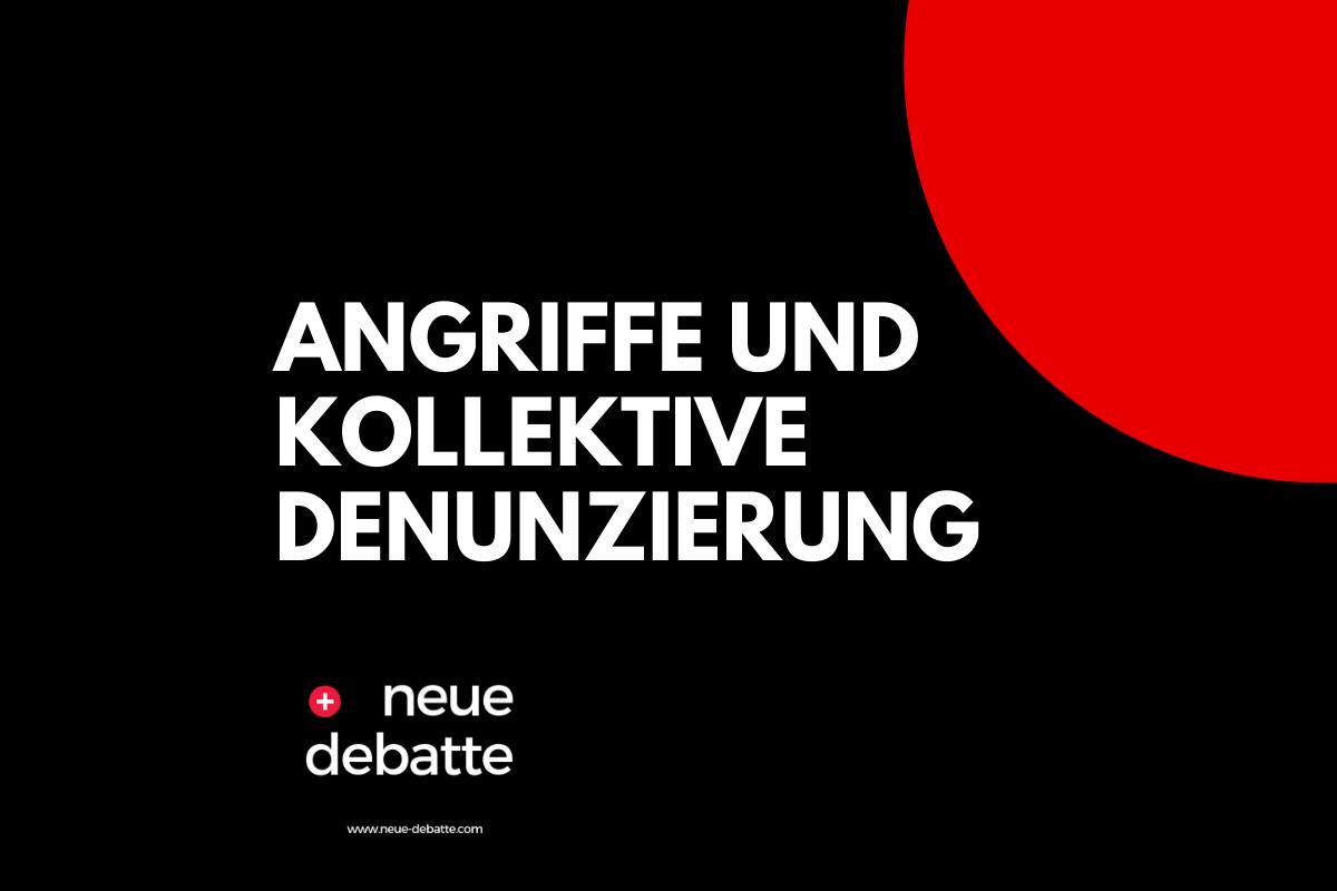 Die Reaktionen auf die Ereignisse in Stuttgart sind desaströs. (Illustration: Neue Debatte)