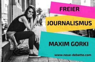 Kategorien Neue Debatte Maxim Gorki