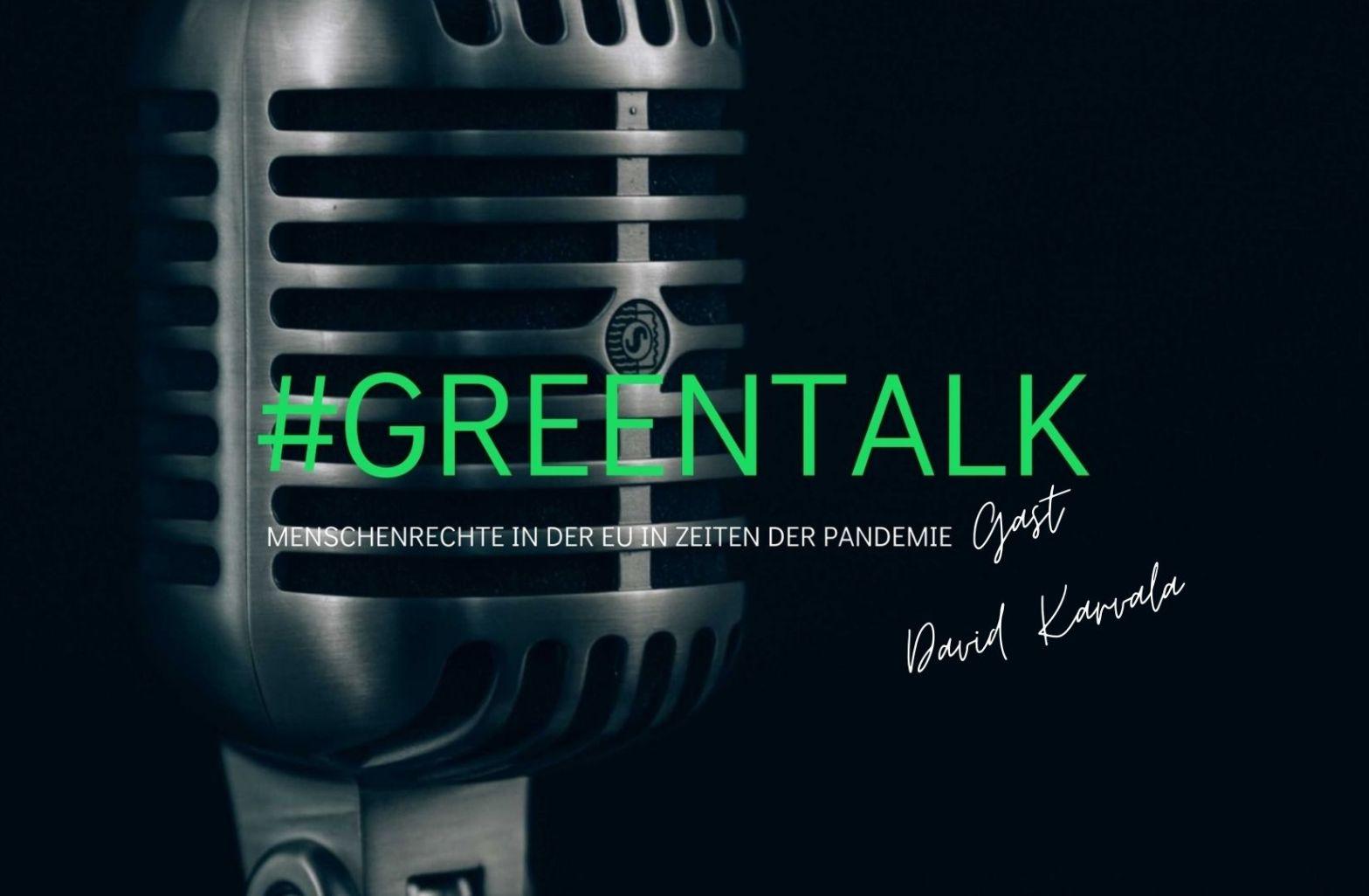 GreenTalk   Gast: David Karvala