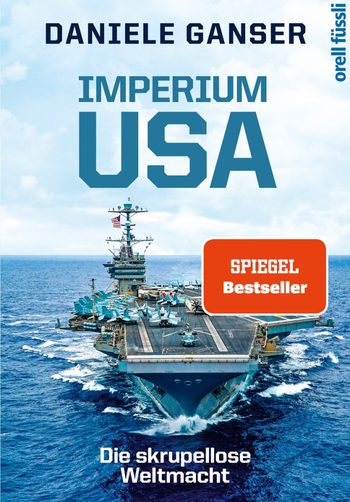 Imperium USA. (Cover: Daniele Ganser).