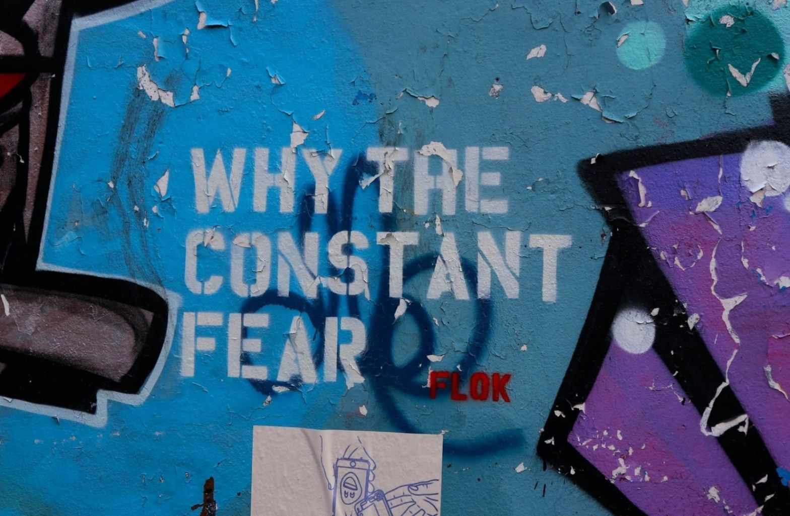 Warum die ständige Angst, seid wagemutig. (Foto: Simon Watkinson, Unsplash.com)