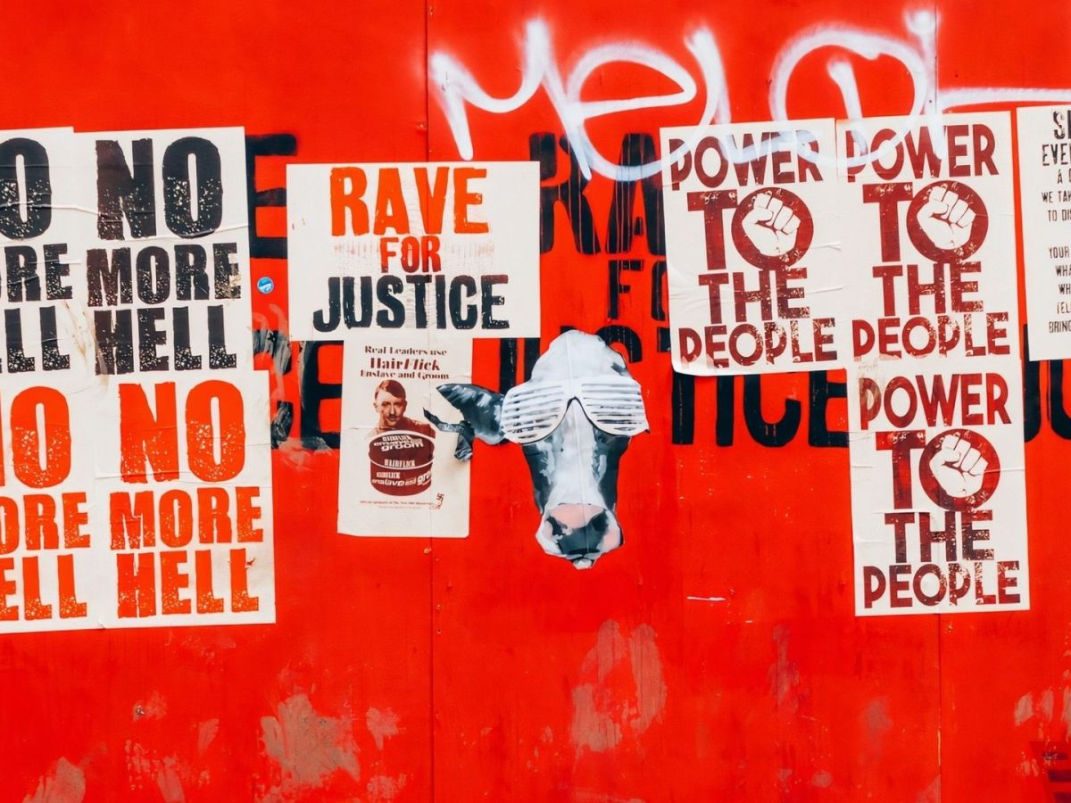 No more Hell. Rave for Justice. (Foto: Annie Spratt, Unsplash.com)