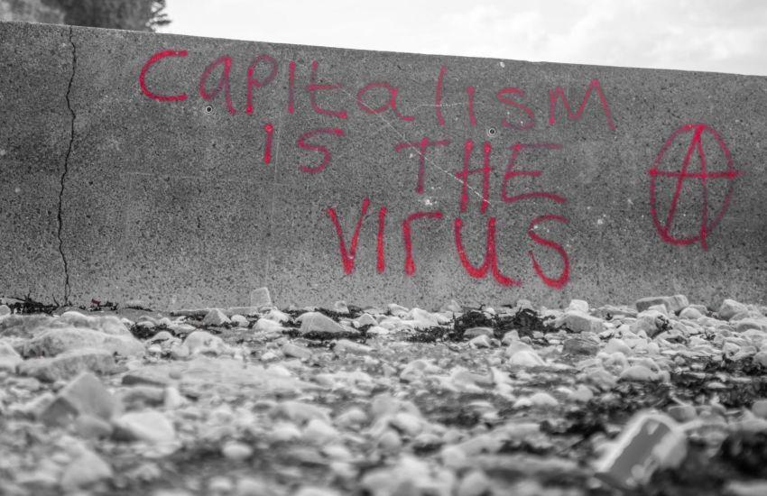 Der Kapitalismus ist das Virus. (Foto: Mike Erskine, Unsplash.com)