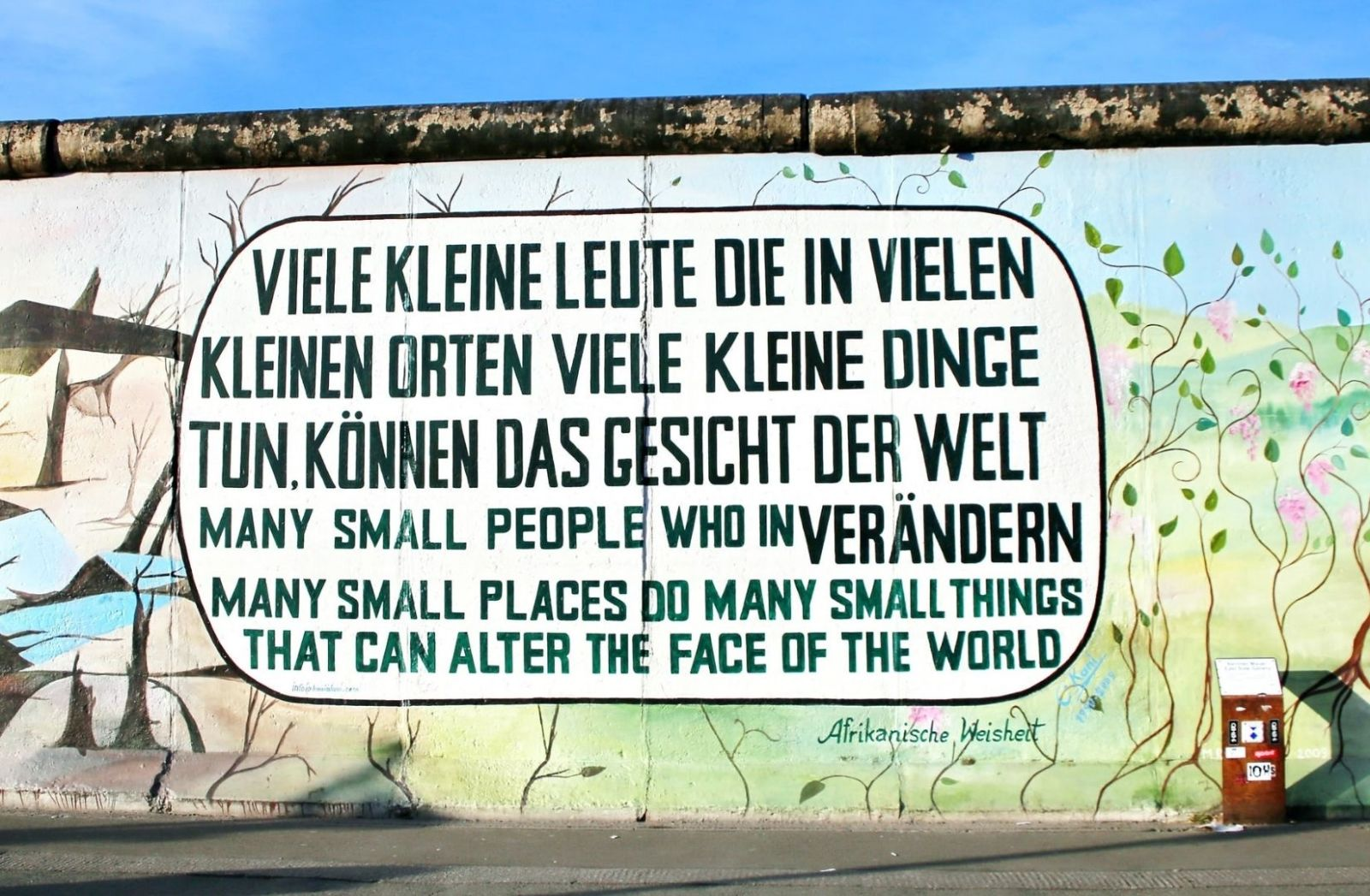 Street Art in Berlin. East Side Gallery. (Foto: Mark König, Unsplash.com)