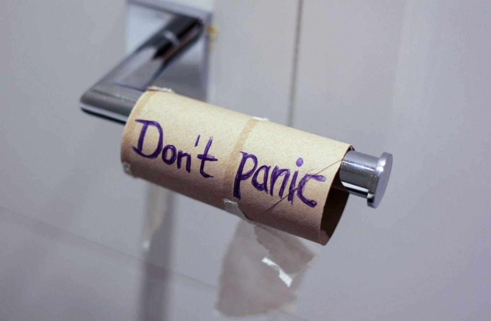 Das Papier ist alle. Wer hat Schuld. (Foto: Jasmin Sessler, Unsplash.com)