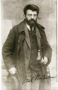 Erich Mühsam 1919 in der Haft in Ansbach (Foto: Continental Press - Photo Service - Bildarchiv Austria, gemeinfrei)