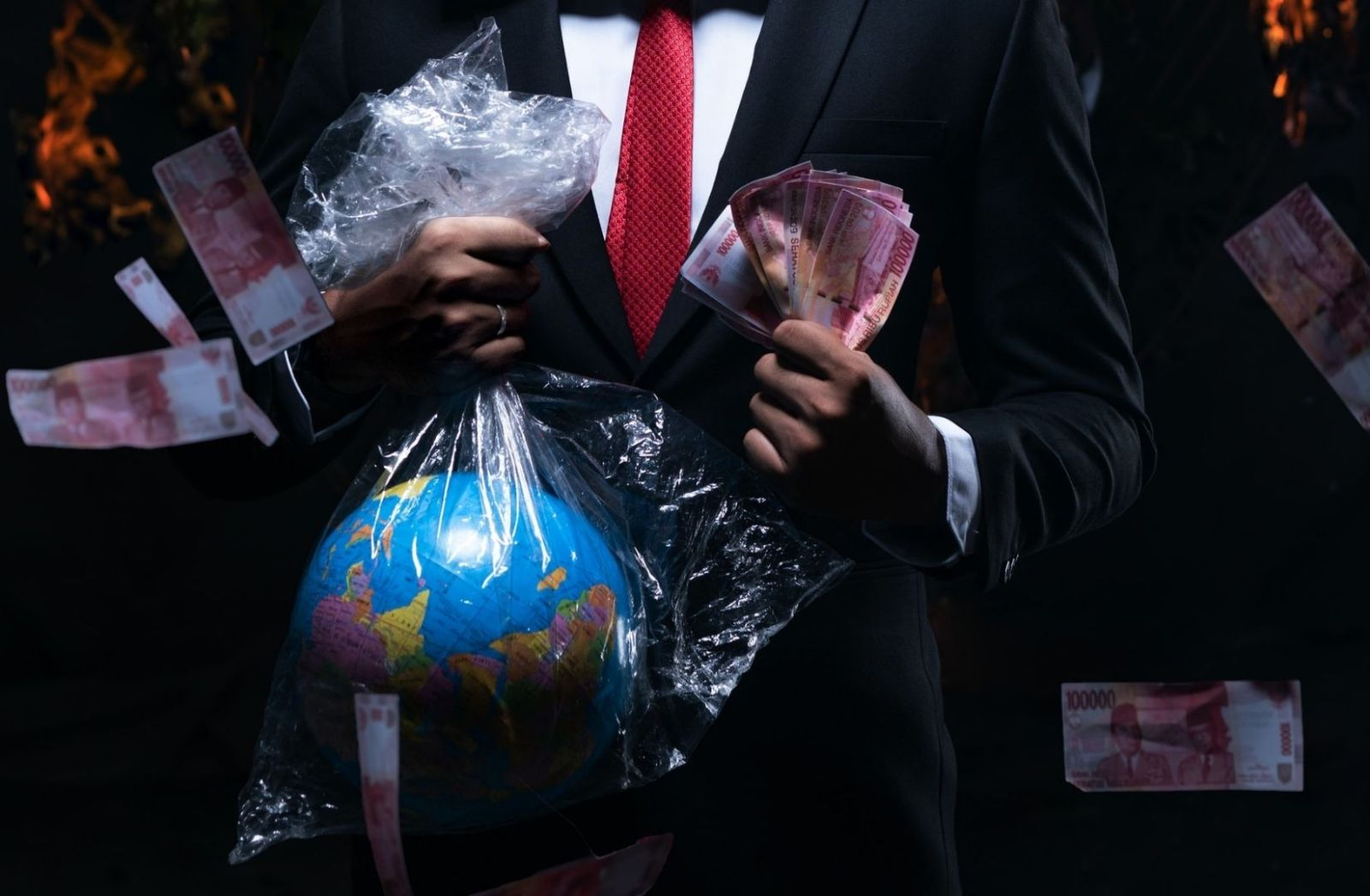 Der Globalisierung geht die Luft aus. (Foto: Fikry Anshor, Unsplash.com)