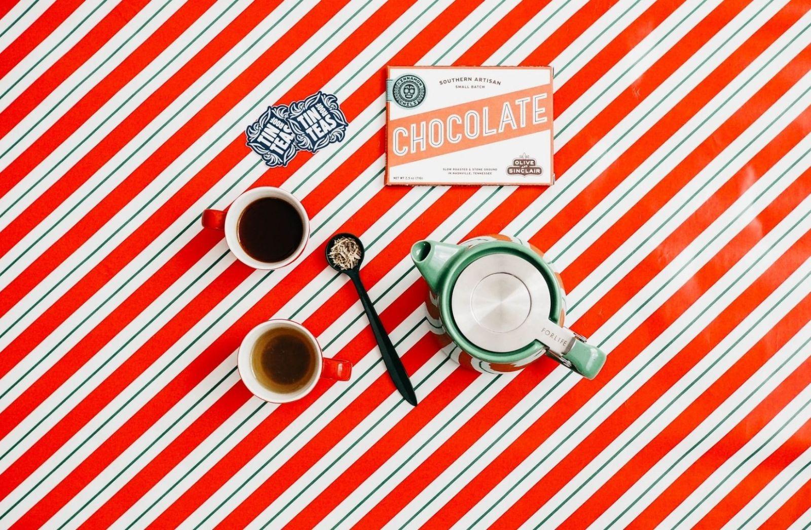 Schokolade und Kaffee. (Foto: The Creative Exchange, Unsplash.com)