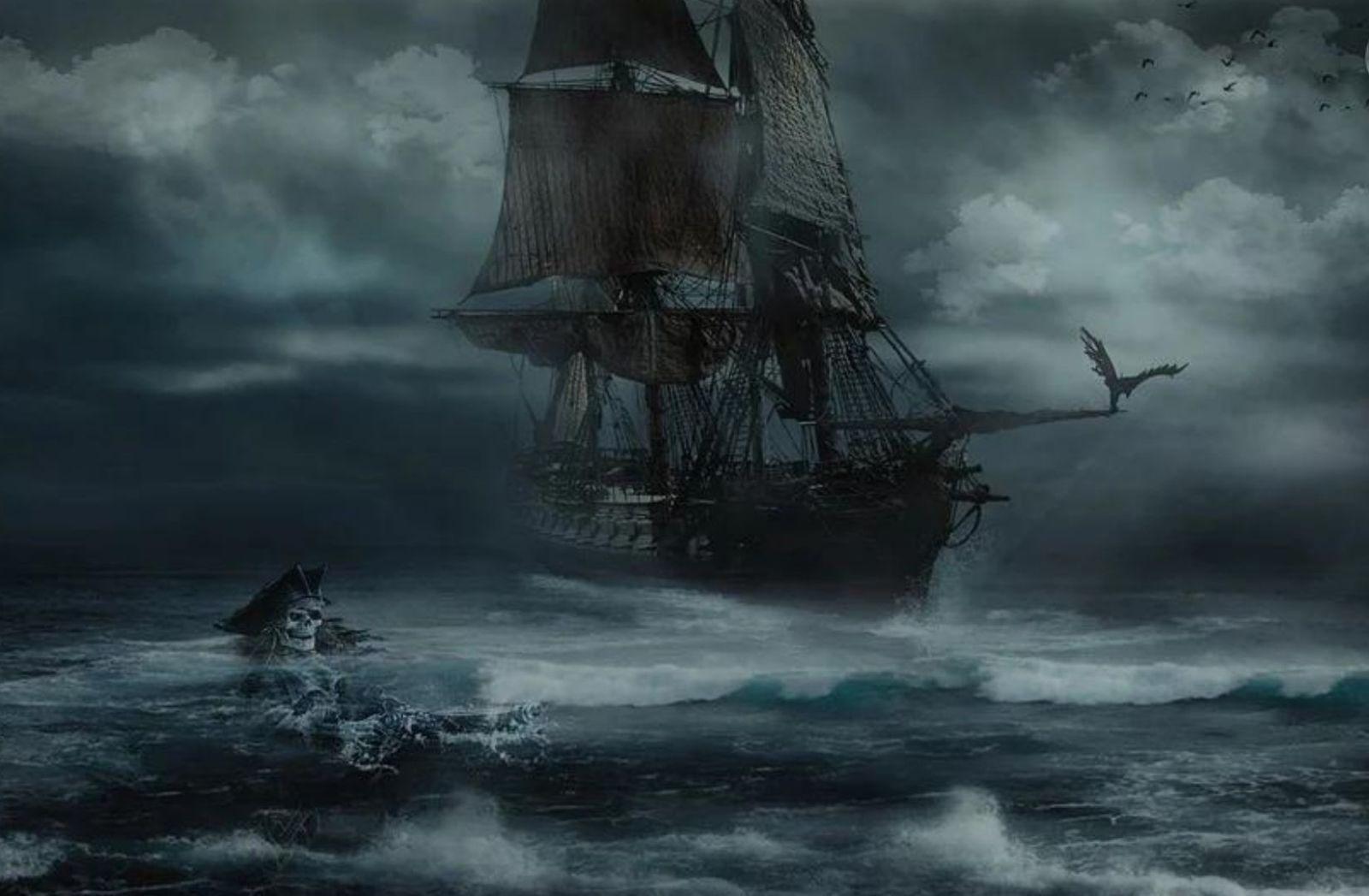 Piratenschiff im Sturm. (Illustration: Iván Tamás, Pixabay.com)
