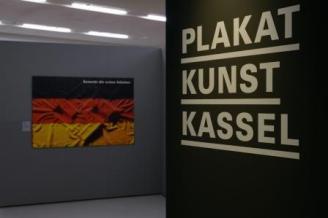 Ausstellungsansicht PLAKAT KUNST KASSEL, Foto: Michael Wilfing
