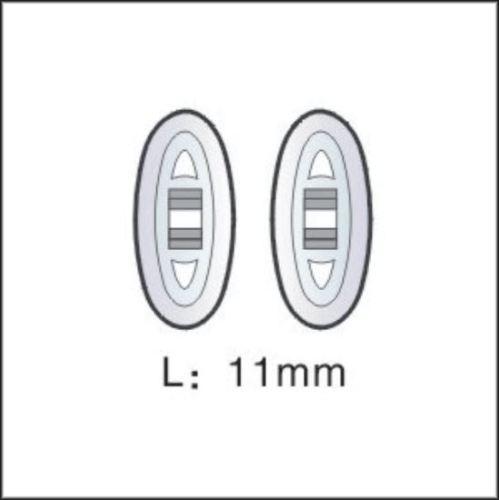 Nasenpad Silikon symetrisch 11mm