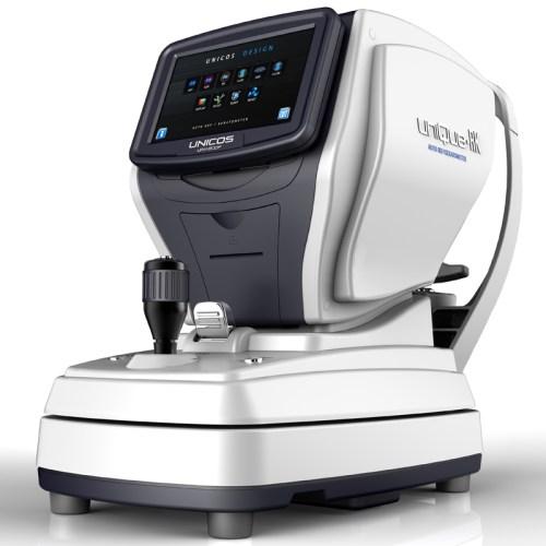 Autorefraktometer Keratometer Unicos URK-800F schräg-rechts Ansicht