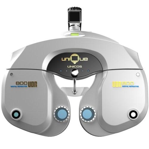 Digitaler Phoropter Unicos UDR-800 frontalansicht