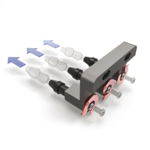 Digitaler Scheitelbrechwertmesser Unicos ULM-800 Farbpatronen