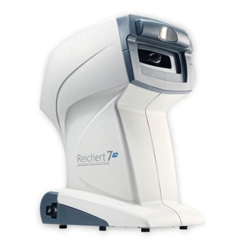 Reichert 7CR Non-Contact-Tonometer mit Bewertung der Hornhautdynamik Patientenseite