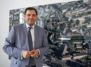 Daniel Schranz, Oberbürgermeister von Oberhausen. Foto: Spernol