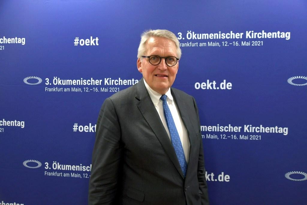 """Der Präsident des Zentralkomitees der deutschen Katholiken (ZdK), Thomas Sternberg, geht davon aus, dass der Katholikentag im kommenden Jahr in Stuttgart """"so ökumenisch wird wie keiner zuvor""""."""