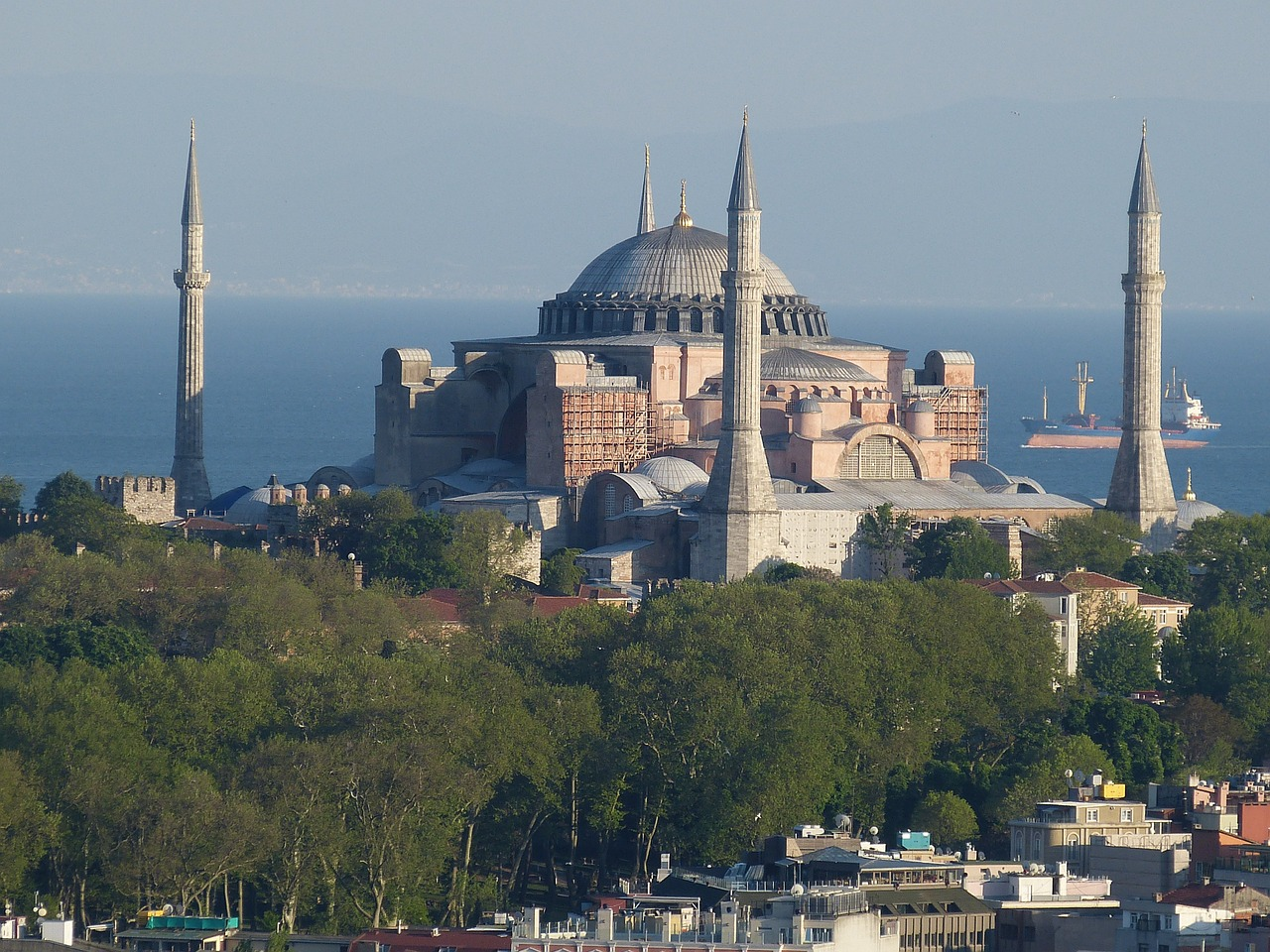 Die Hagia Sophia in Istanbul