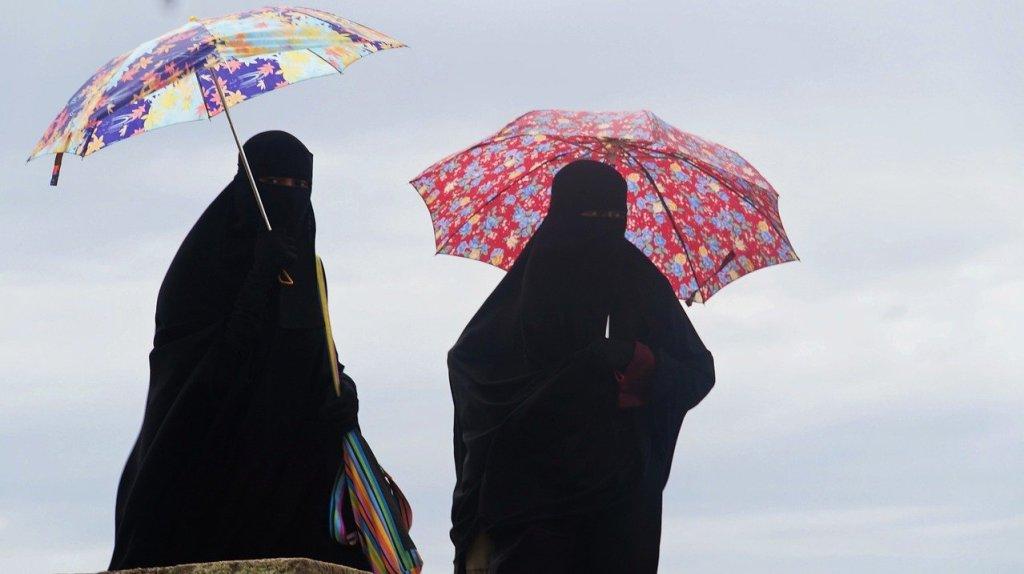 """In der Schweiz gilt künftig ein Verbot der islamischen Vollverschleierung. Bei einem Volksentscheid stimmten am Sonntag laut dem vom SRF berichteten Endergebnis 51,2 Prozent (1.426.992 Personen) dafür und 48,8 Prozent (1.360.317 Personen) gegen die Volksinitiative """"Ja zum Verhüllungsverbot""""."""