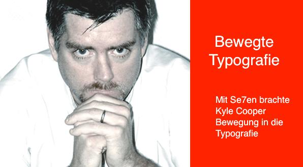 Bewegte Typografie