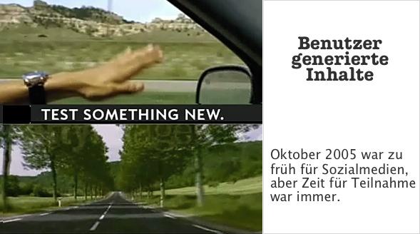 Oktober 2005 war zu früh für Sozialmedian aber Zeit für Teilnahme war immer.