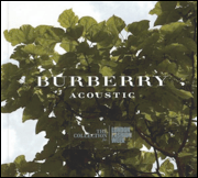 Burberrry Accoustic CD