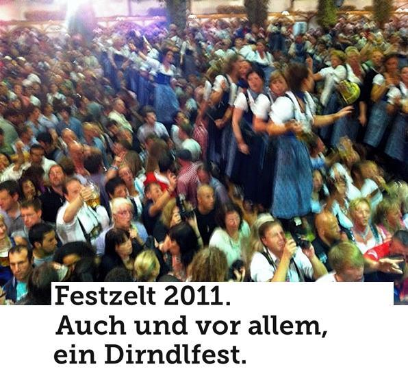 Festzelt 2011