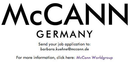 McCANN Germany