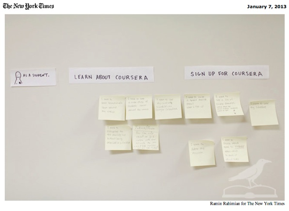 Coursera by Ramin Rahimian for The New York Time