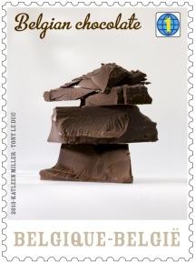 Belgian chocolate stamp_2