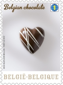 Belgian chocolate stamp_3