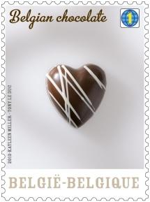 Belgian chocolate stamp_3