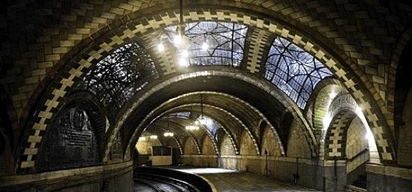 City Hall subway station NYC