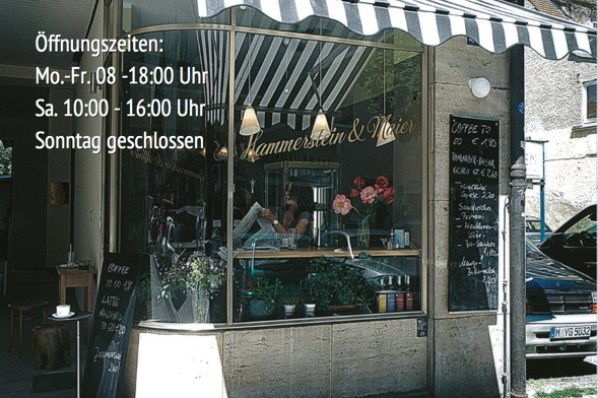 Hammerstein & Maier espresso bar - photo: Gogo Eisert