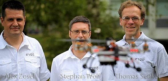 Alexander Zosel (CEO), Stephan Wolf (CEO) und Thomas Senkel (CTO).