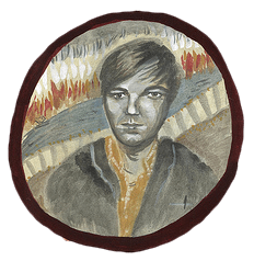 David Dondero by Elizabeth Blue