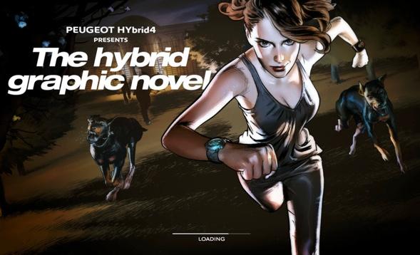 The hybrid graphic novel