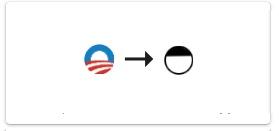 Unaufgeforderter Vorschlag für neues Obama Logo.