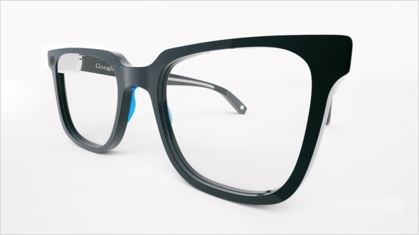 Google glass rendered by sourcebits.com