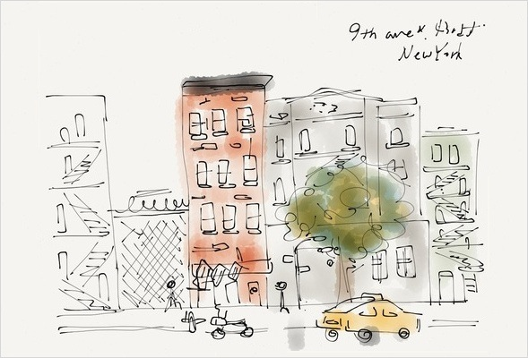 Images created with iPad app, Paper by Daouna Jeong(@oura)