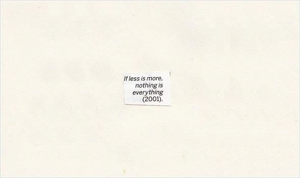 Nichts ist alles