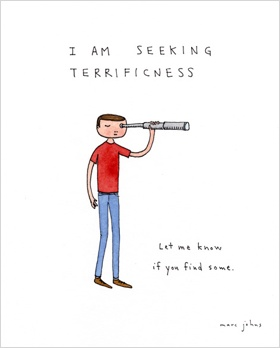 Being sought by Marc Johns