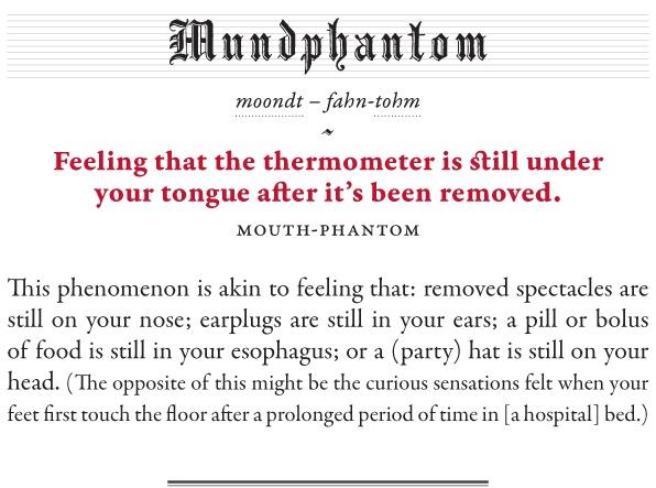Mundphantom